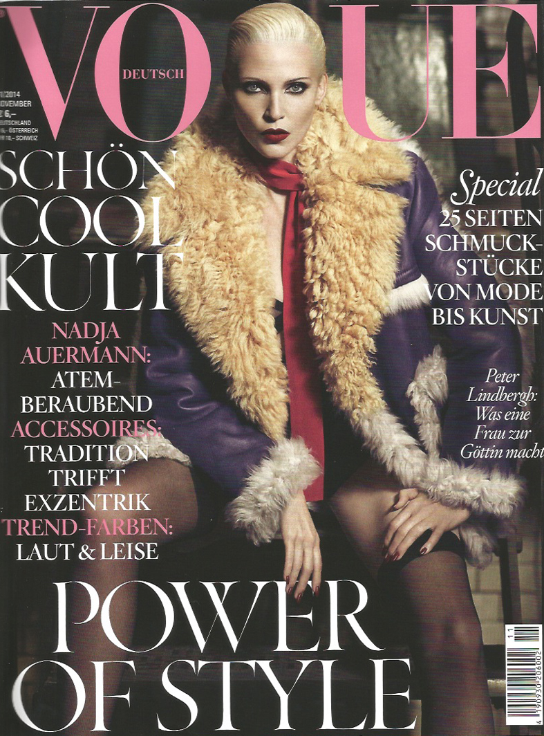 German Vogue cover